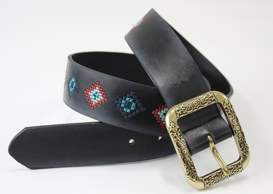 Faux Leather Belt Example-1396-ZMB3210-1 - Belts