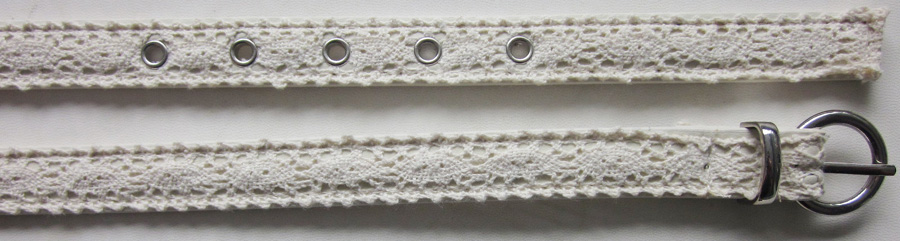 Crochet Lace Belt-V-1352-SP16A - Belts