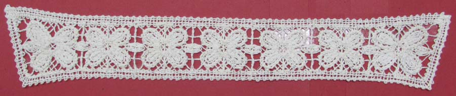 "8"" Crochet Applique-Ivory<br>see Special Pricing Tab"