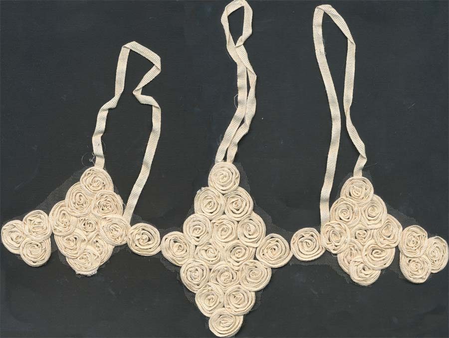 "14"" Re-Embroidered Collar-Natural"