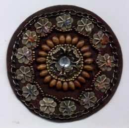 "3"" Heat-seal Beaded Applique"