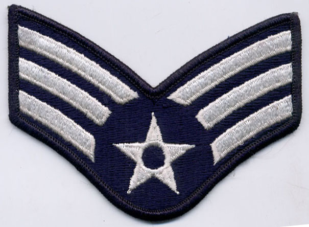 USA Airmen Stripes Applique