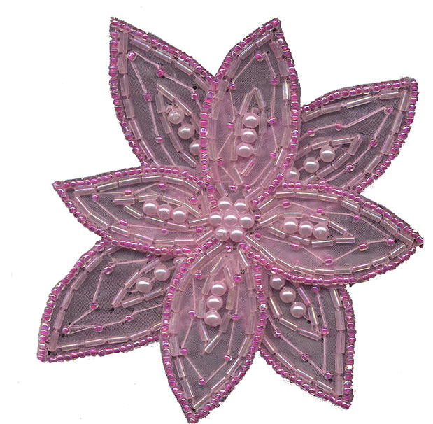Pearl and Beaded Star Flower