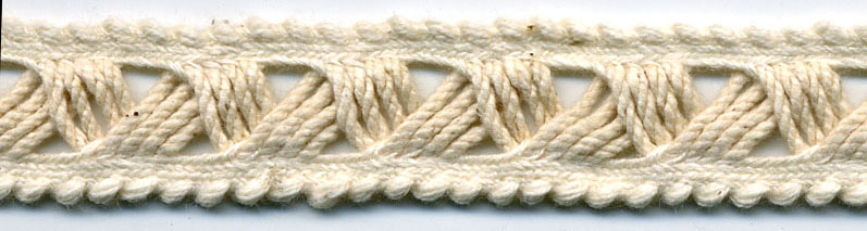 "1/2"" Cotton Macrame Cord Braid-Natural<br>see Special Pricing Tab"