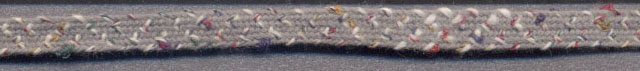 "<font color=""red"">IN STOCK</font><br>1/4"" Cotton/Rayon Cross Stitch Braid-Medium Grey"