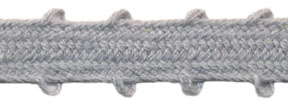 "3/8"" Cotton Whip Edge Sleeving-Light Grey<br>see Special Pricing Tab"