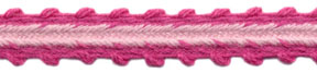 "<font color=""red"">IN STOCK</font><br>3/8"" Cotton Outbound Edge-Power Pink/Pink Combo"
