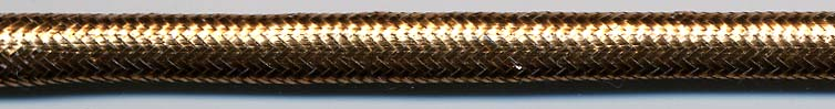 "1/4"" Metallic Tubular Cord-Copper"