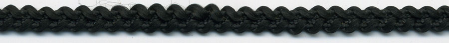 "3/16"" 4 Line Poly Star Braid-Black<br>See Special Pricing Tab"
