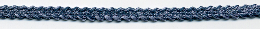 "3/16"" 4 Line Poly Star Braid-Denim<br>See Special Pricing Tab"