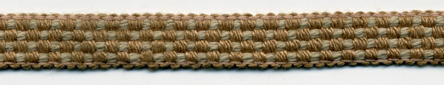 "3/8"" Poly Braided Linen Trim-Earth Tones<br>see Special pricing Tab"