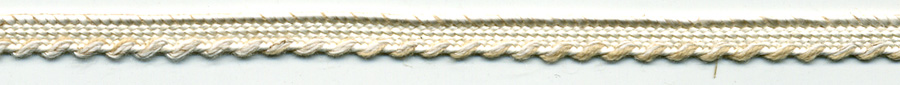 "3/16"" 4 Line Rayon Star Braid-Linen Color<br>see Special Pricing Tab"