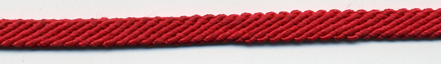"1/4"" Rayon File Sleeve Braid-Red<br>see Special Pricing Tab"