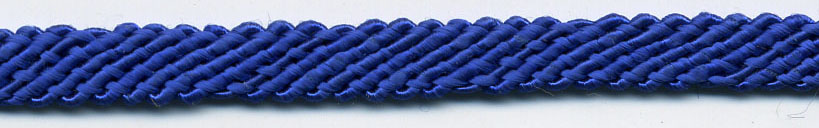 "$0.05 per yard, see Special Pricing Tab  - 1/4"" Rayon File Sleeve Braid-Royal"