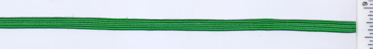 "<font color=""red"">IN STOCK</font><br>3/16"" Latex-Free Soft Rayon Middy Braid Tape-Emerald"