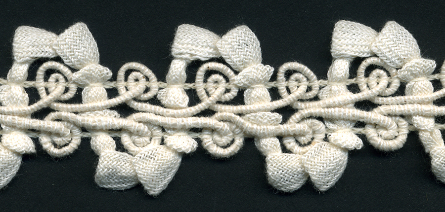 "1+1/4"" Wide Cotton Gimp Bell Braid-Natural<br>see Special Pricing Tab"