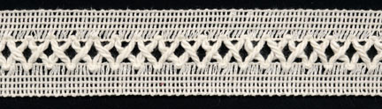 "1+3/8"" Cotton X Cord Cable Knit Braid-Natural<br>$0.05 per yard, see Special Pricing Tab"