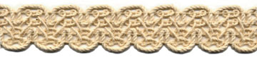 "1+1/4"" Cotton Cord Knit Braid-Natural<br>$0.05 per yard, see Special Pricing Tab"