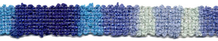"$0.05 per meter, see Special Pricing Tab - 9/16"" Blocking Braid-Ocean"