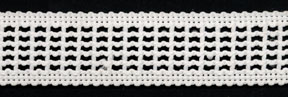 "1"" Poly Mesh Braid-White<br>see Special Pricing Tab"