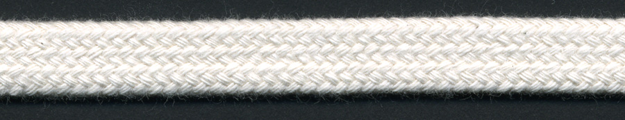 "<font color=""red"">IN STOCK</font><br>1/2"" Wide 100% ORGANIC COTTON Flat Sleeving Drawcord-Natural"