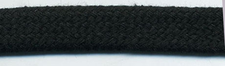 "<font color=""red"">IN STOCK</font><br>1/2"" Flat Sleeving Cord-Black"
