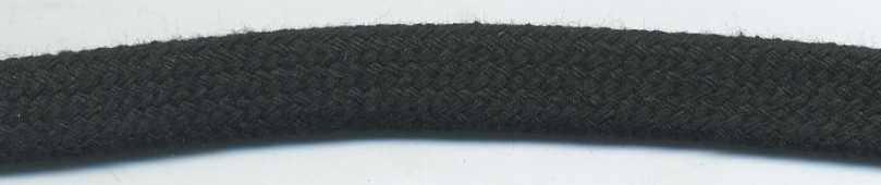 "<font color=""red"">IN STOCK</font><br>1/2"" Flat Sleeve Cotton-Off Black"