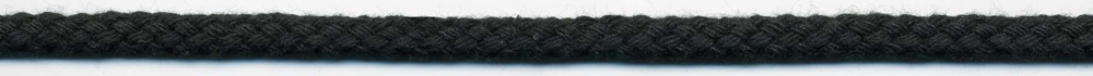 "1/2"" Cotton Drawcord Black"