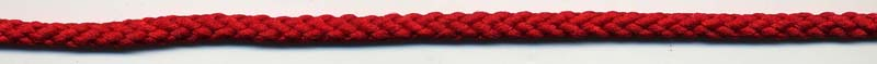 "1/4"" Textured Nylon Drawcord Red"