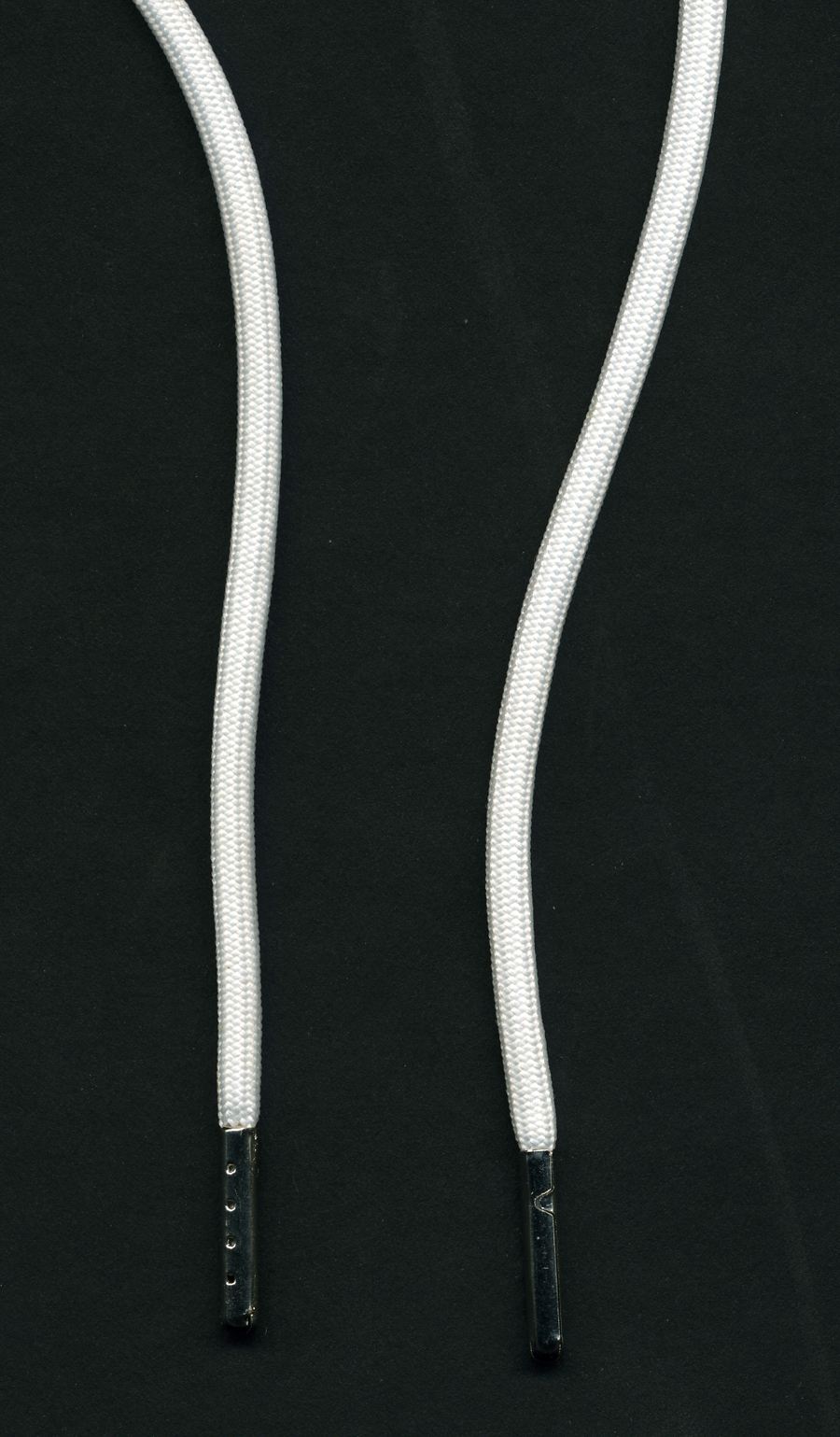 "58"" Length Poly Drawcord-White With Antique Nickel Tips<br>see Special Pricing Tab"