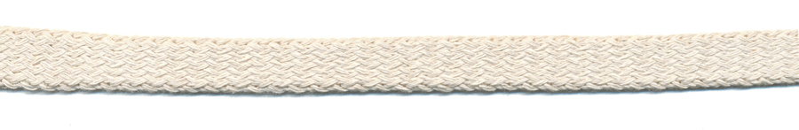 "7/16"" Cotton Knit Flat Sleeve-Natural"