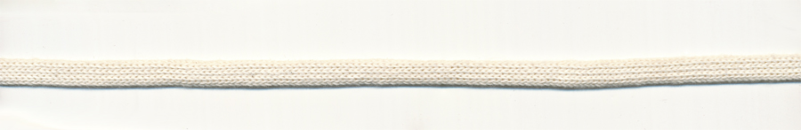 "1/4"" Cotton Knit Flat Sleeve-Natural"
