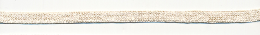 "3/8"" Cotton Knit Flat Sleeve-Natural"