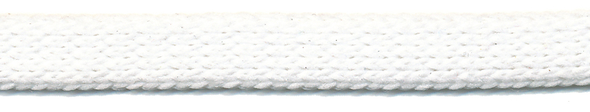 "3/8"" Polyester Knit Flat Sleeve-White"