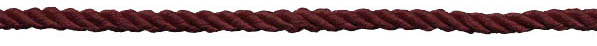 3MM 2-ply Twist Rope-Wine