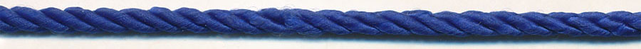 "1/8"" 3-ply 6x3 Rayon Twisted Cable Cord-Royal"