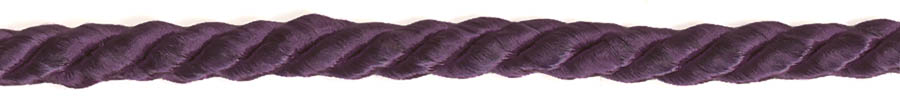 "3/16"" 3-ply 8x3 Rayon Cable Cord-Light Purple"