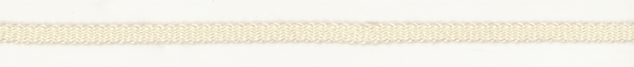 10MM Flat Sleeving-Ivory