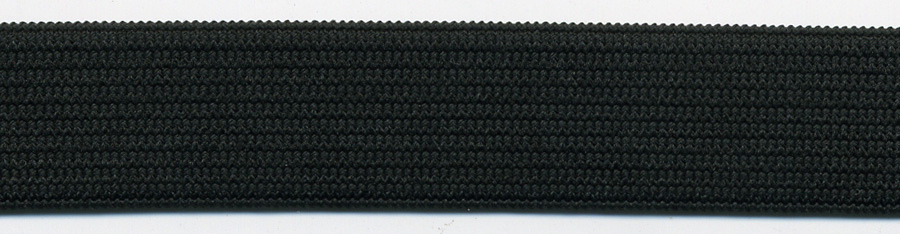 "<font color=""red"">IN STOCK</font><br>1/8"" Poly Knit Elastic-Black<br>(Soft, Standard, Pre-Shrunk)"