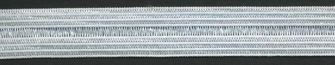 "<font color=""red"">IN STOCK</font><br>1/2"" Poly Knit Foldover Elastic-White"