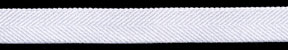 "1/2"" Nylon Stretch Twill Elastic-White"