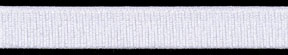 "9/16"" Nylon Stretch Grosgrain Elastic-White"