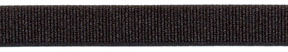 "9/16"" Nylon Stretch Grosgrain Elastic-Black"