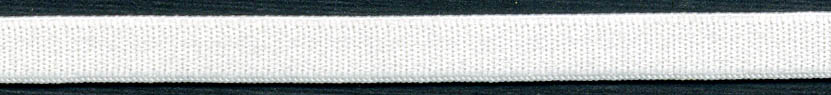 "1/2"" Poly Plush Elastic-White"