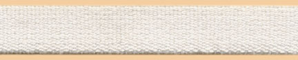 "1"" Poly Poly Terry Elastic-White"