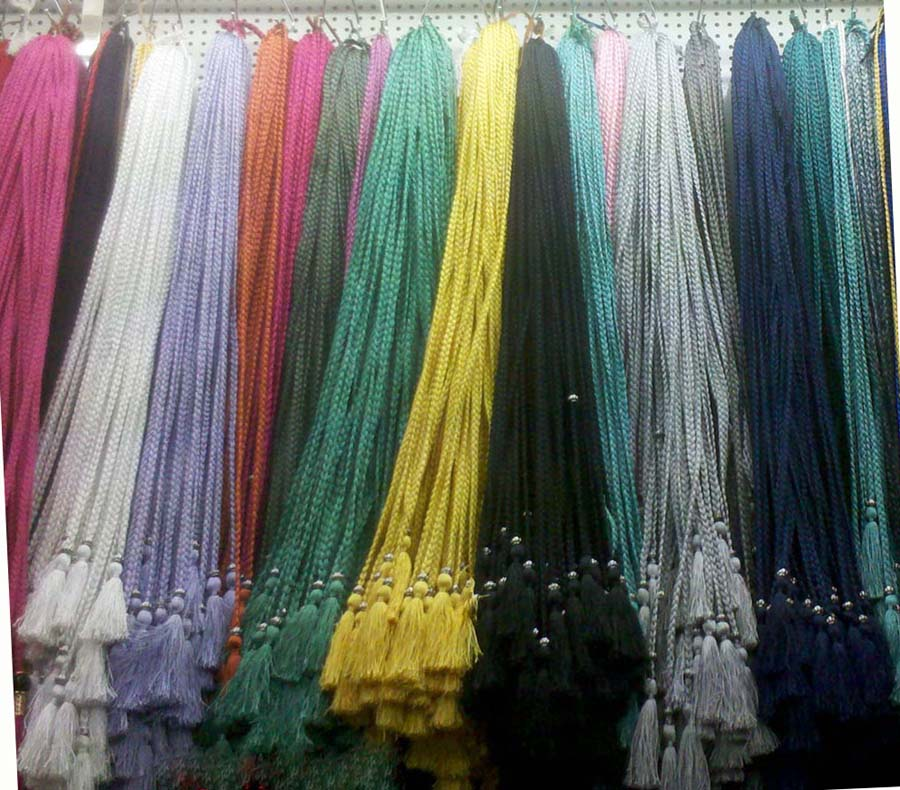 Braided Cord Tassel Belts-Color Examples
