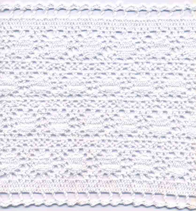 "7"" Cotton Cluny Galloon Lace-White"