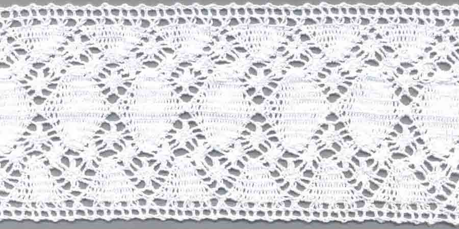 "4"" Cotton Cluny Straight Edge Lace-Natural"