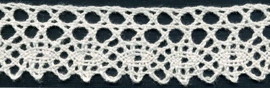 "1"" Cotton Cluny Edge Lace-Natural"