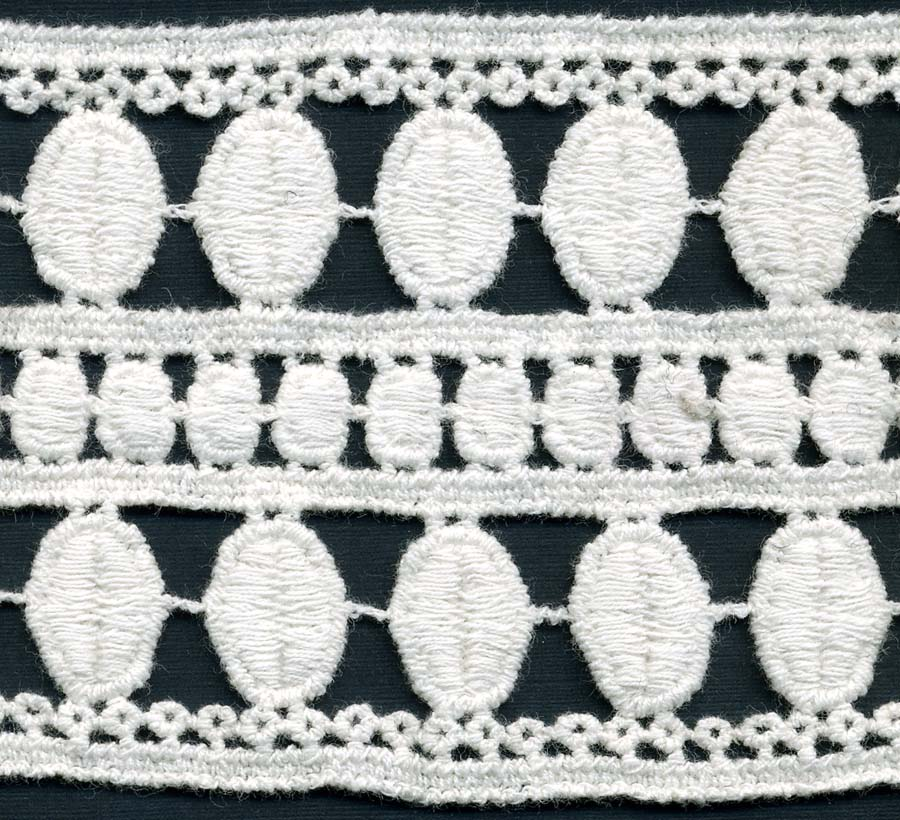 "3"" Cotton Crochet Lace-Natural"
